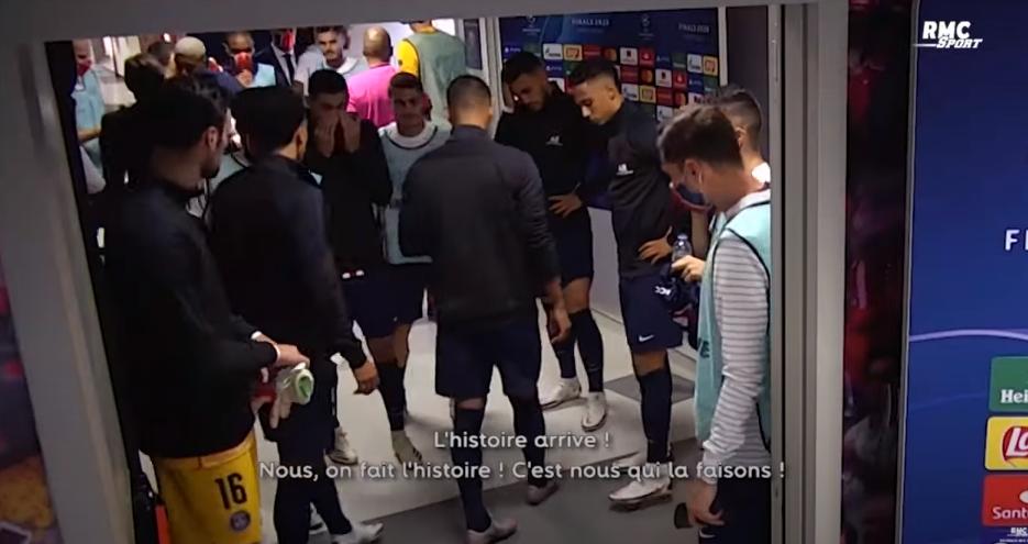"""LDC - Retrouvez le """"film"""" RMC Sport de la qualification du PSG contre Leipzig"""