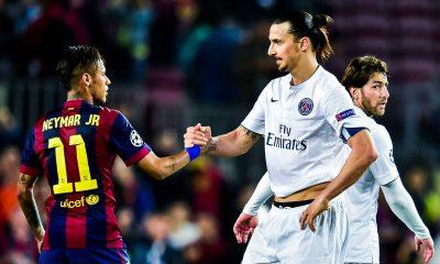 """Neymar fait l'éloge de Zlatan Ibrahimovic """"il a tout"""""""