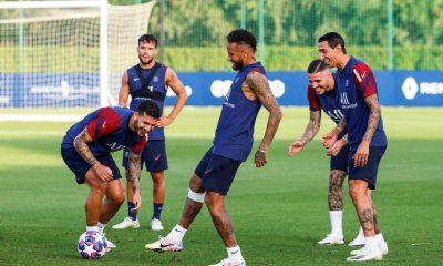 Atalanta/PSG - L'équipe parisienne peut-être avec Paredes et pas forcément en 4-3-3
