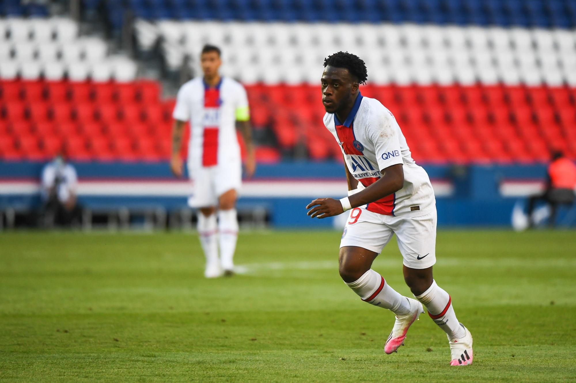 """PSG/Sochaux - Kalimuendo évoque son premier match complet et l'envie """"d'apprendre"""""""