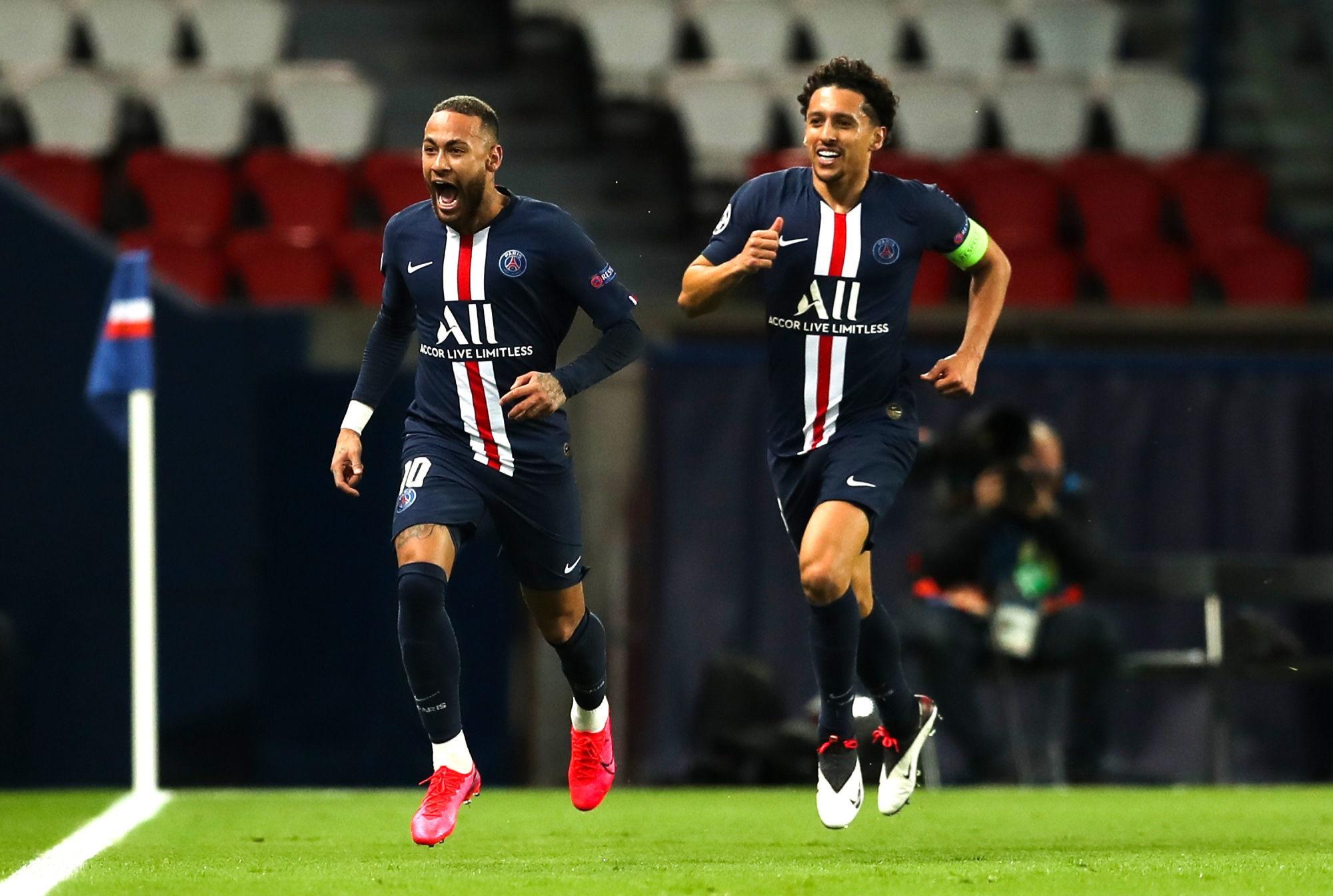 """Marquinhos parle du bonheur de Neymar au PSG """"Il vit un très beau moment"""""""