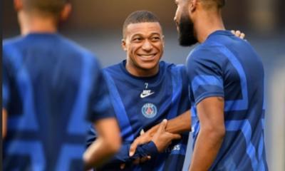 """Mbappé dit au revoir à Thiago Silva """"une légende"""" et Choupo-Moting """"un grand frère"""""""