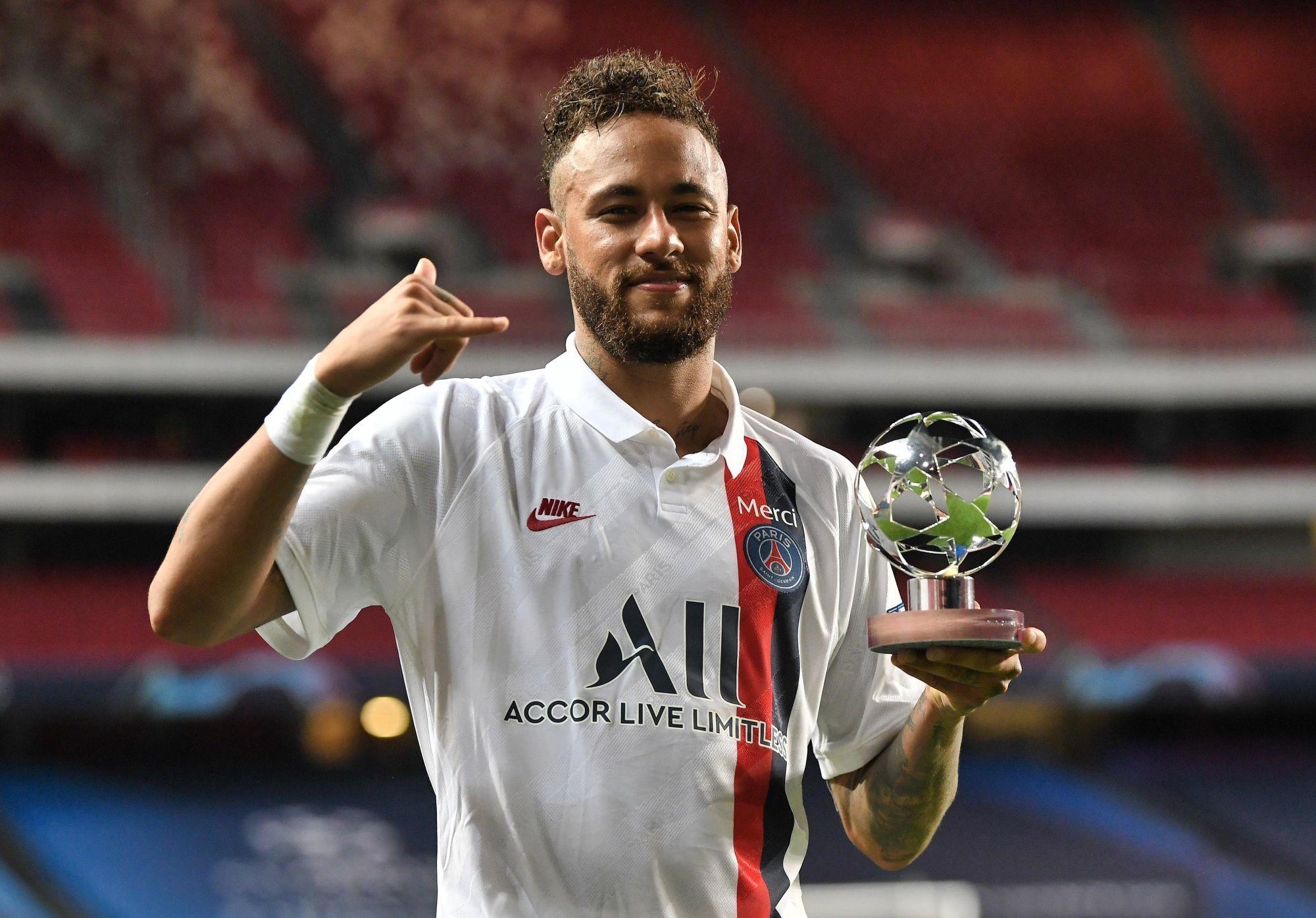 Neymar a été élu joueur des quarts de finale de la Ligue des Champions
