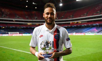 Atalanta/PSG - Neymar élu joueur du match par les supporters parisiens