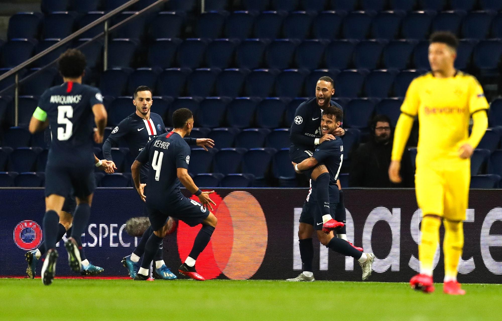 """Sarabia explique que la cohésion du groupe du PSG a été """"renforcée"""", pas créée, contre Dortmund"""