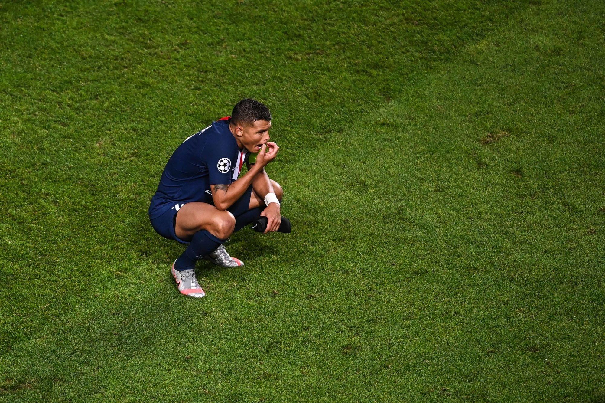 """PSG/Bayern - Thiago Silva évoque la déception, son """"dernier match"""" à Paris et un retour"""