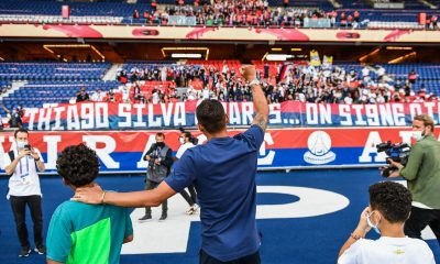 """Le Collectif Ultras Paris publie un message pour saluer Thiago Silva """"nous te remercions pour tout"""""""