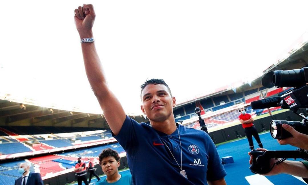 Les images du PSG ce mercredi: Vacances, hommage à Thiago Silva et PSG/OL féminin