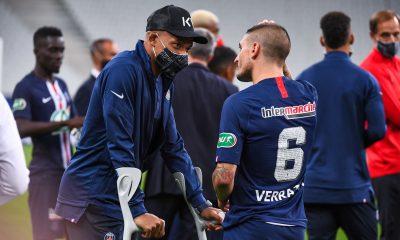 Mbappé et Verratti dans le groupe de 28 joueurs du PSG pour aller au Portugal, selon RMC Sport