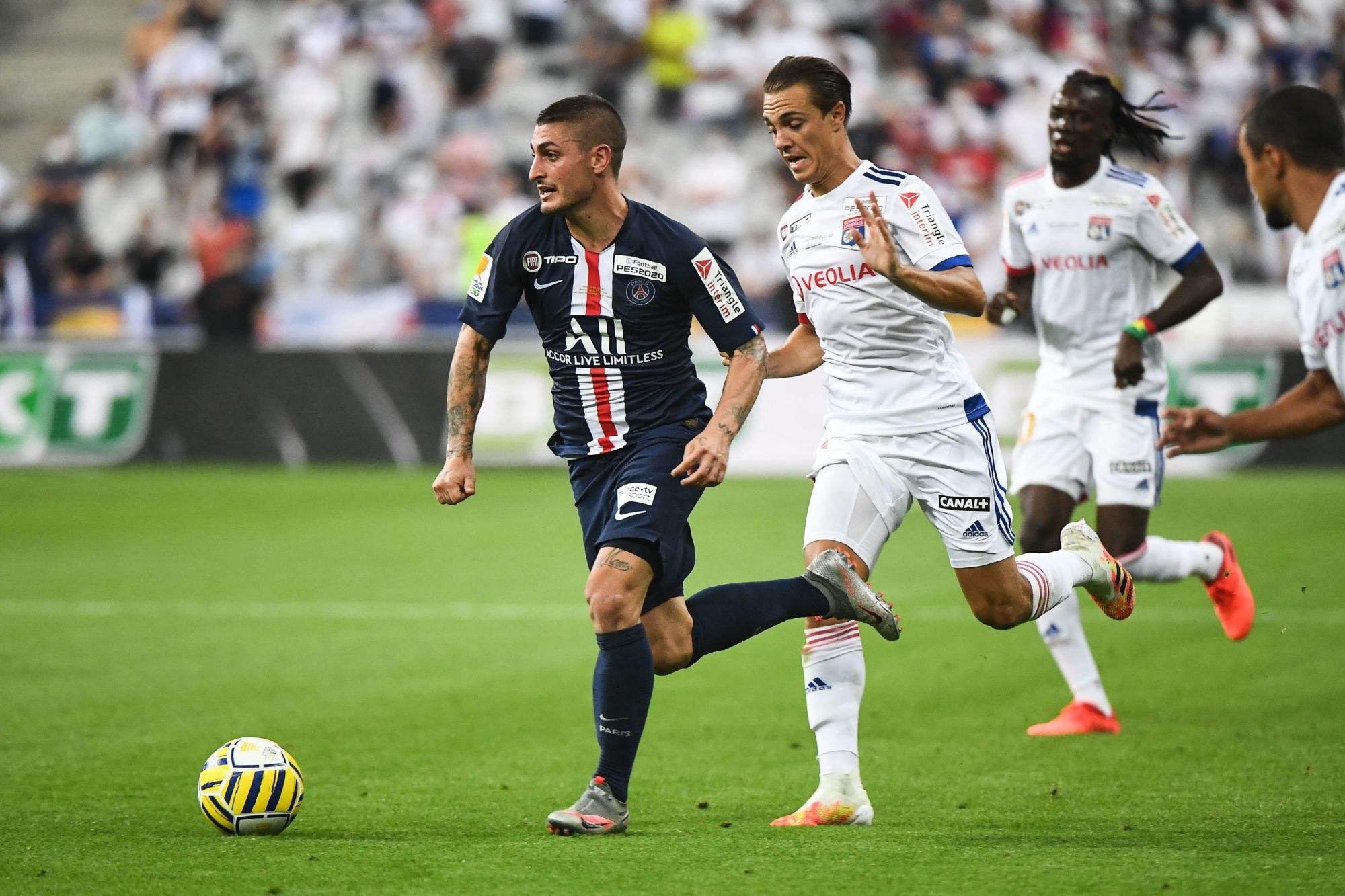 PSG/OL - Verratti élu joueur du match par les supporters parisiens