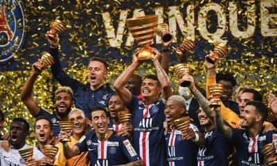 Revivez la victoire du PSG contre l'OL en finale de Coupe de la Ligue au plus près des joueurs