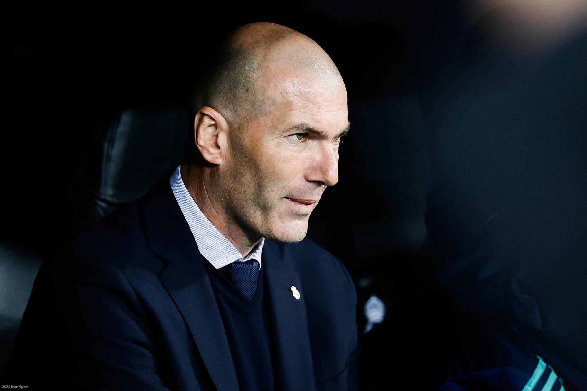 Zidane évoqué au PSG, RMC Sport casse la rumeur