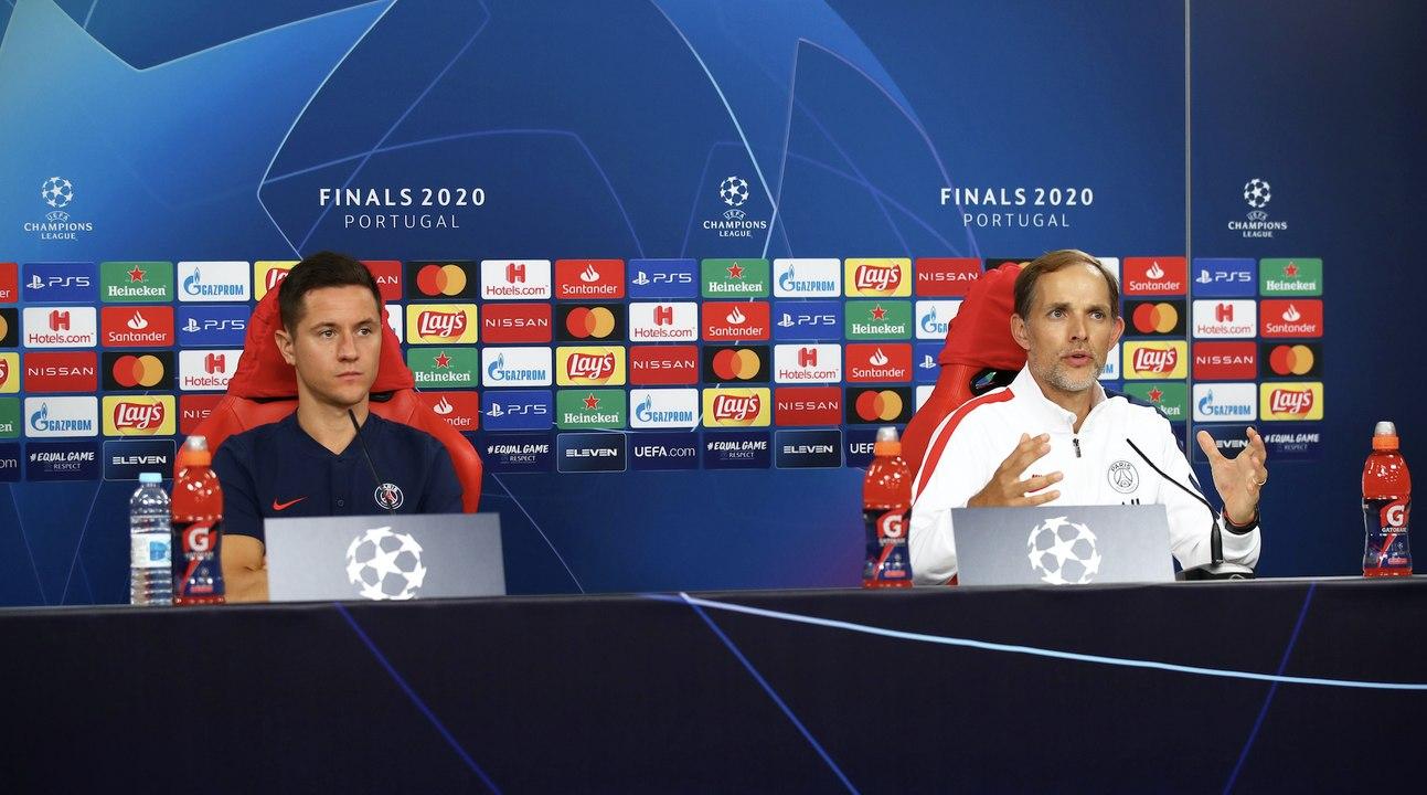 Les images du PSG ce lundi: conférence de presse d'avant match et entraînement