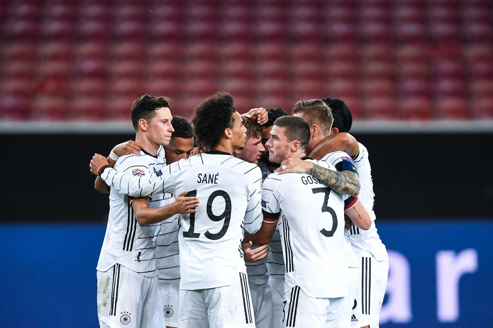 Kehrer et Draxler intéressants lors du match nul entre l'Allemagne et l'Espagne