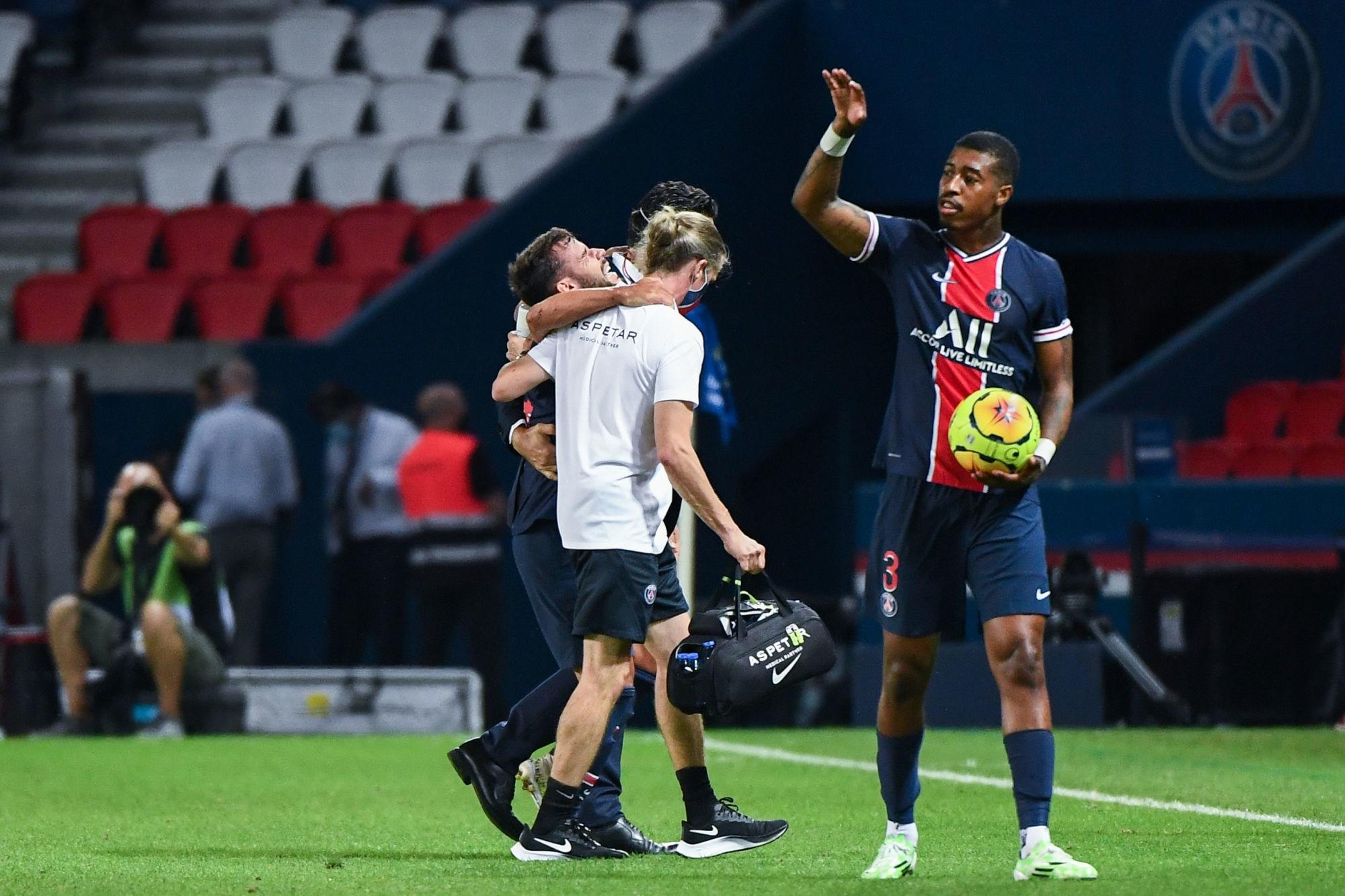 """Bernat souffre """"a minima d'une entorse du genou gauche"""", indique L'Equipe"""