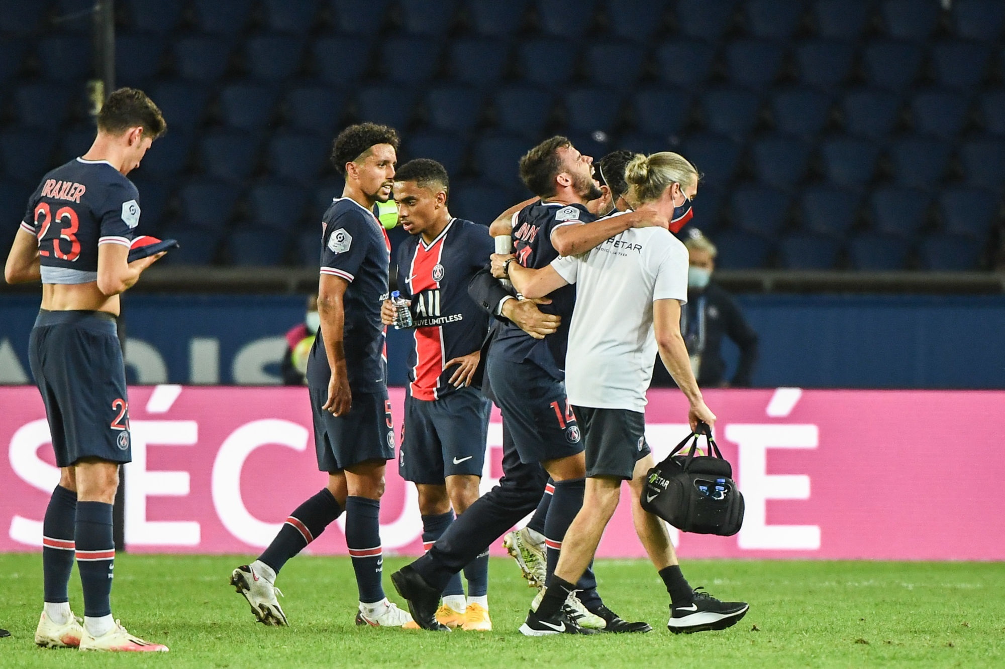 Officiel - Rupture du ligament croisé pour Bernat, Mbappé, Kehrer et Verratti sur le retour