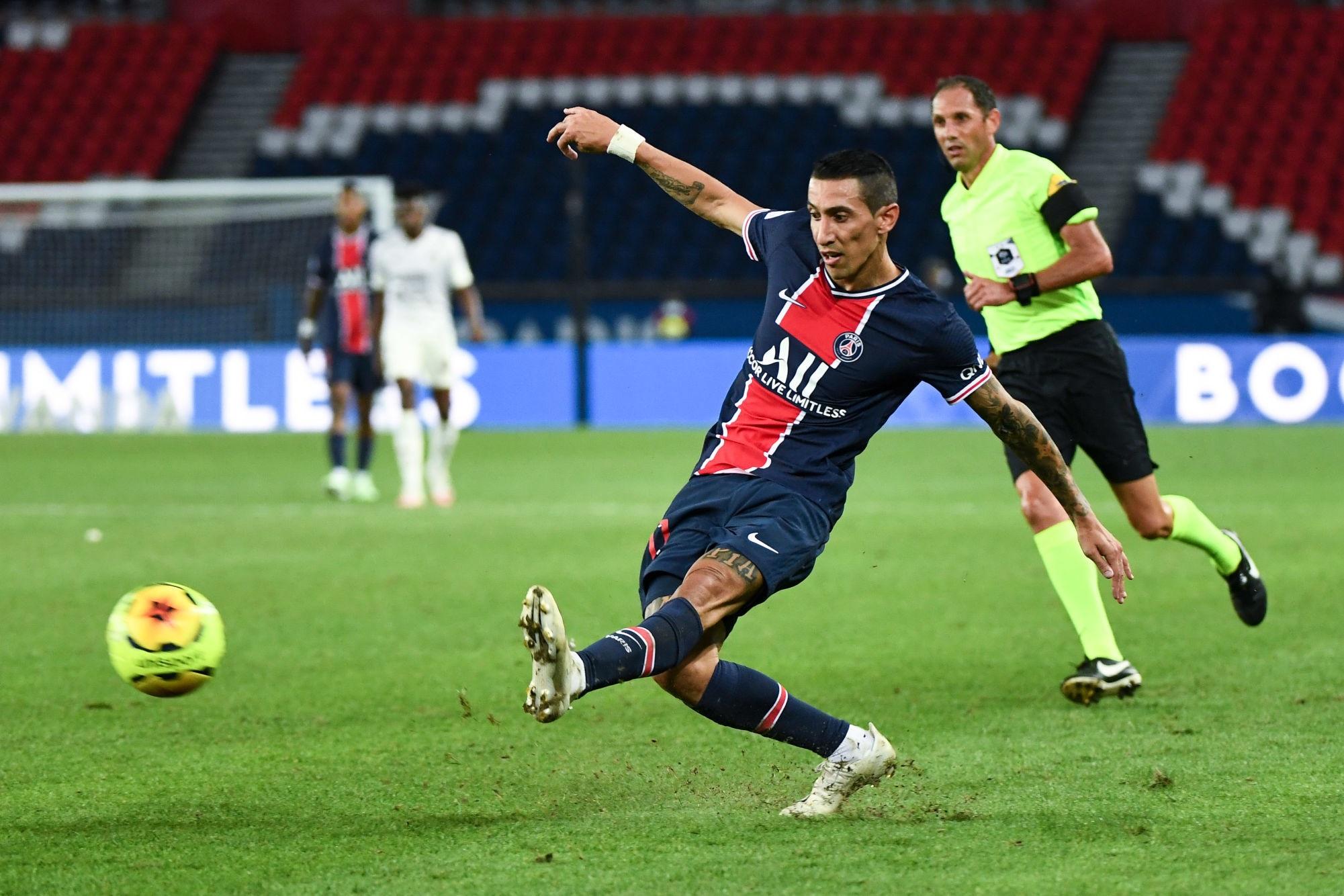 PSG/Metz- Di Maria élu meilleur joueur côté parisien par les supporters