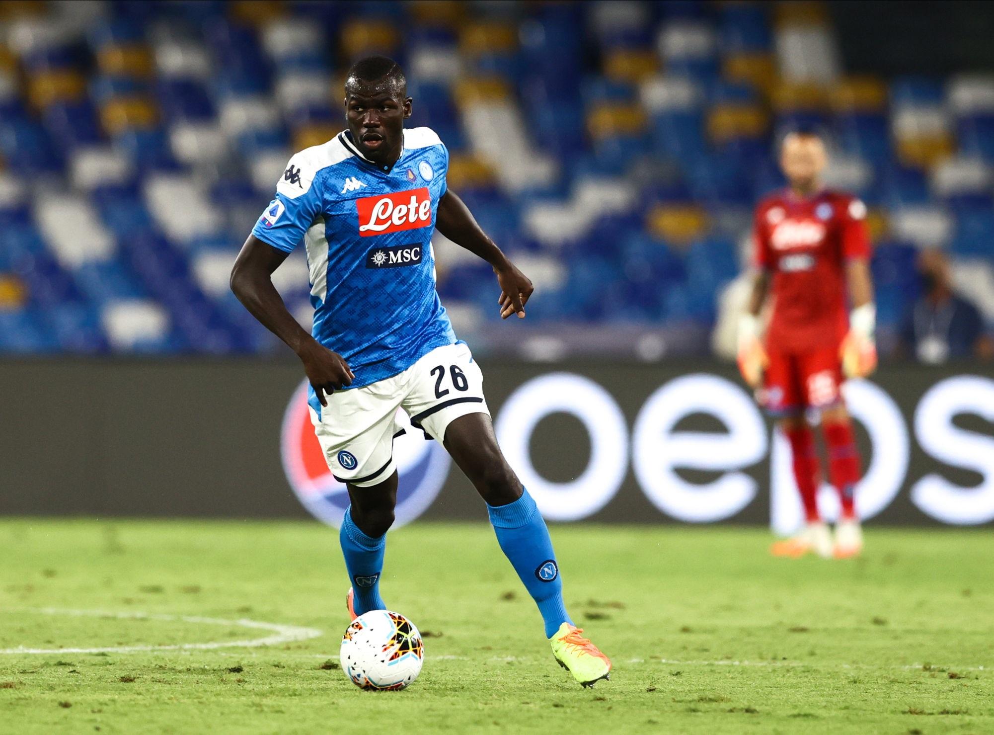 Mercato - De Laurentiis concède que Koulibaly est «en instance de départ», s'il y a la bonne offre