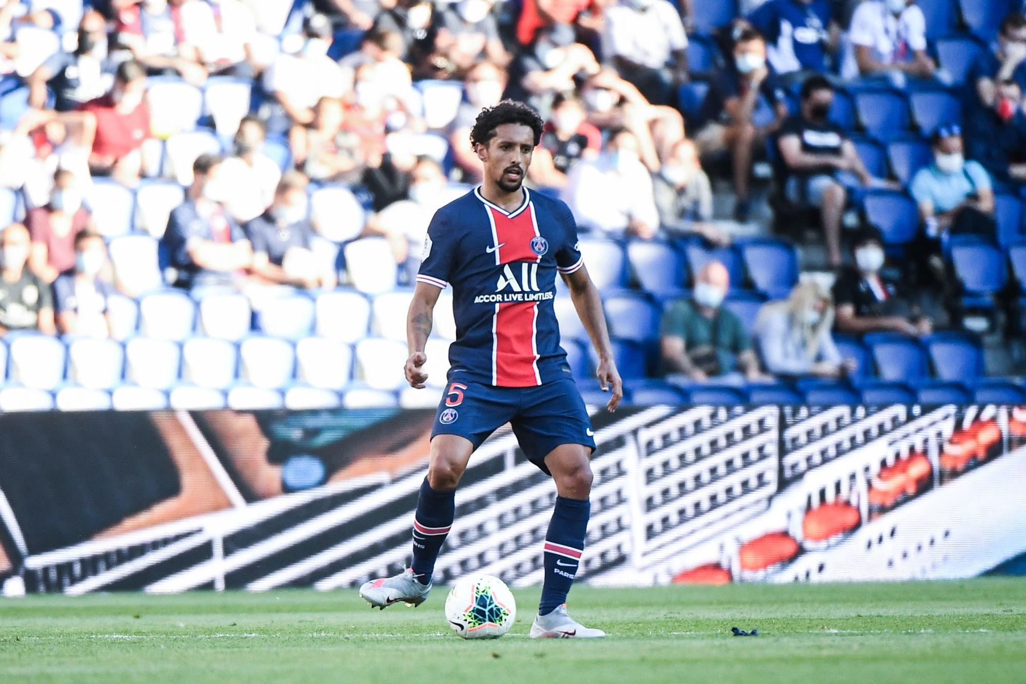 """Marquinhos pense à finir sa carrière au PSG """"j'espère rester le plus longtemps possible"""""""