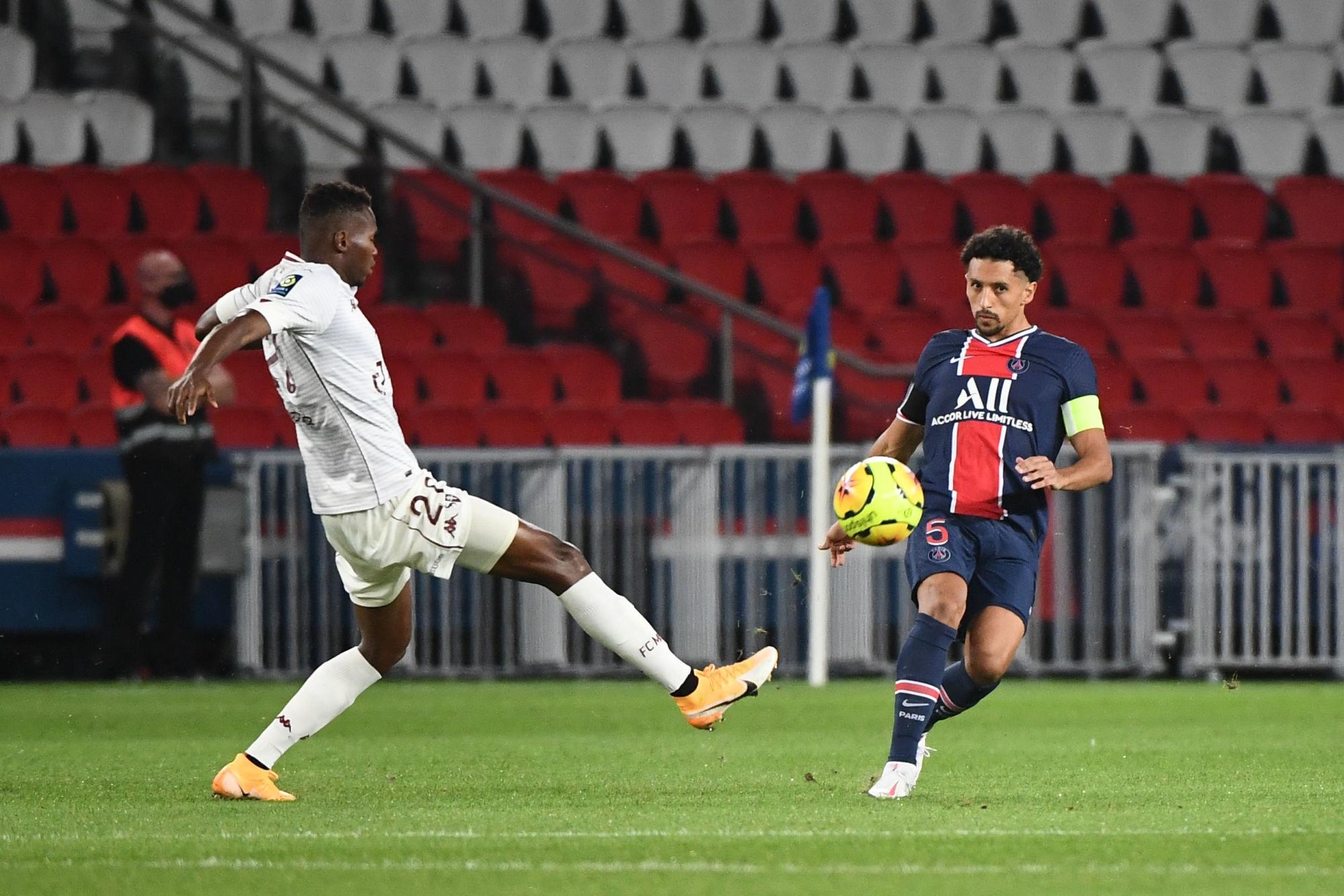 PSG/Metz - Marquinhos évoque l'importance de la victoire et son poste