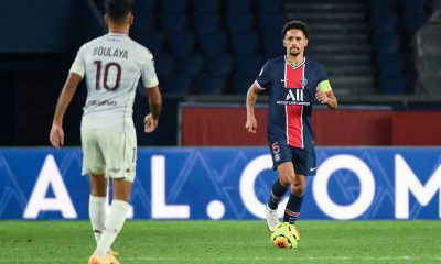 """Marquinhos déclare qu'il """"aime de plus en plus jouer au milieu"""""""