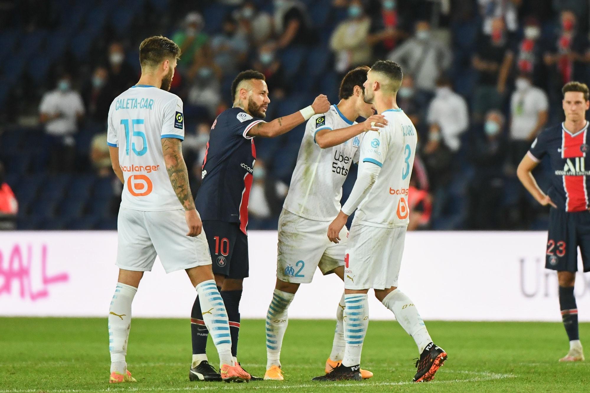 Téléfoot n'a pas d'image pour appuyer l'accusation de Neymar à l'encontre d'Alavaro Gonzalez