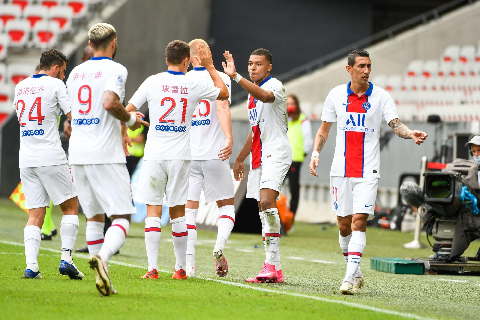 Revivez la victoire du PSG à Nice au plus près des joueurs Parisiens