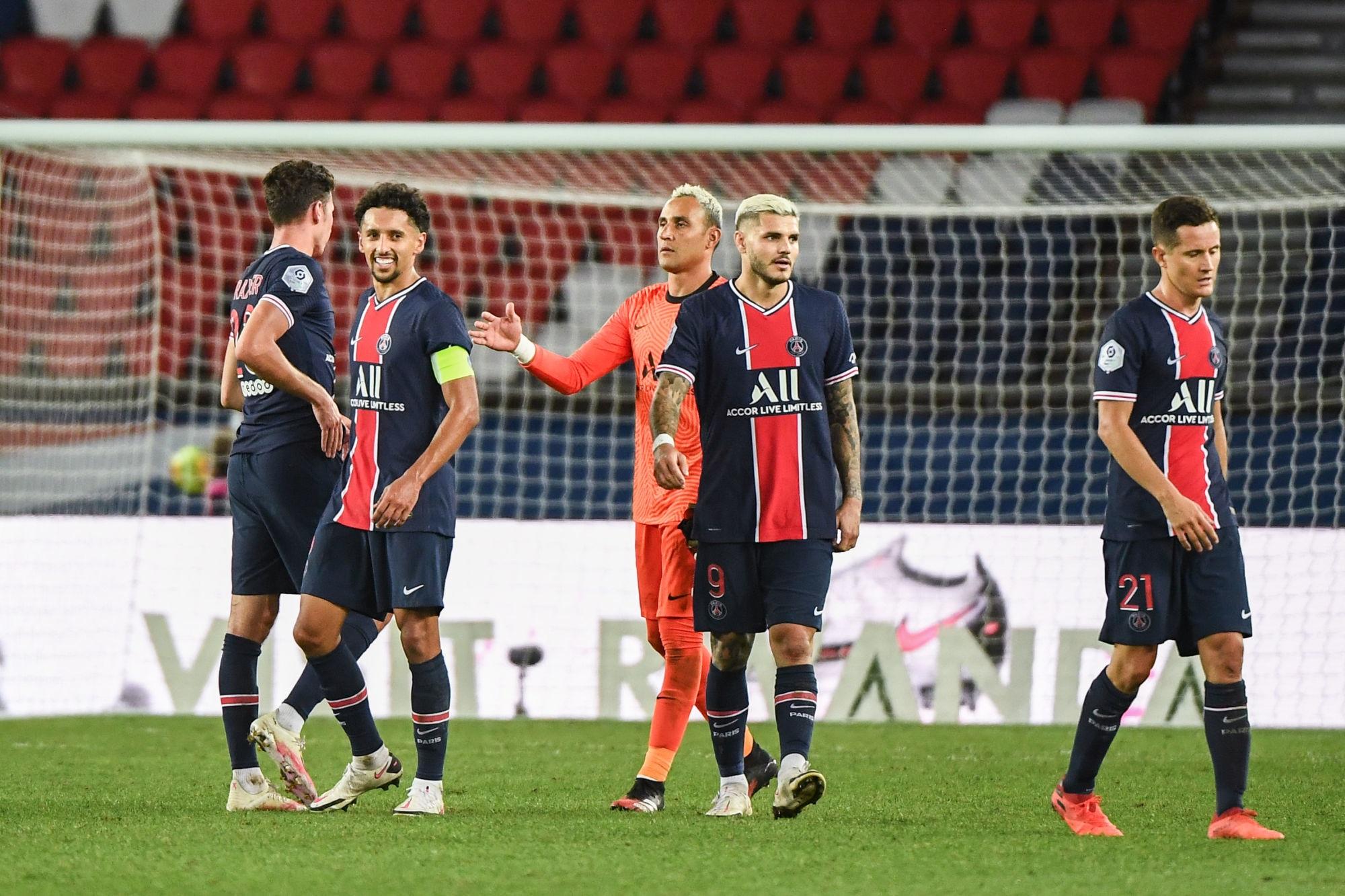 Revivez la victoire du PSG contre Metz au plus près des joueurs parisiens