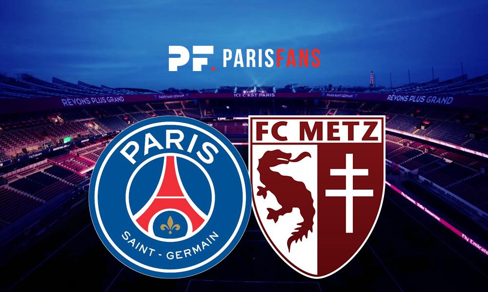 PSG/Metz - Chaîne et horaire de diffusion