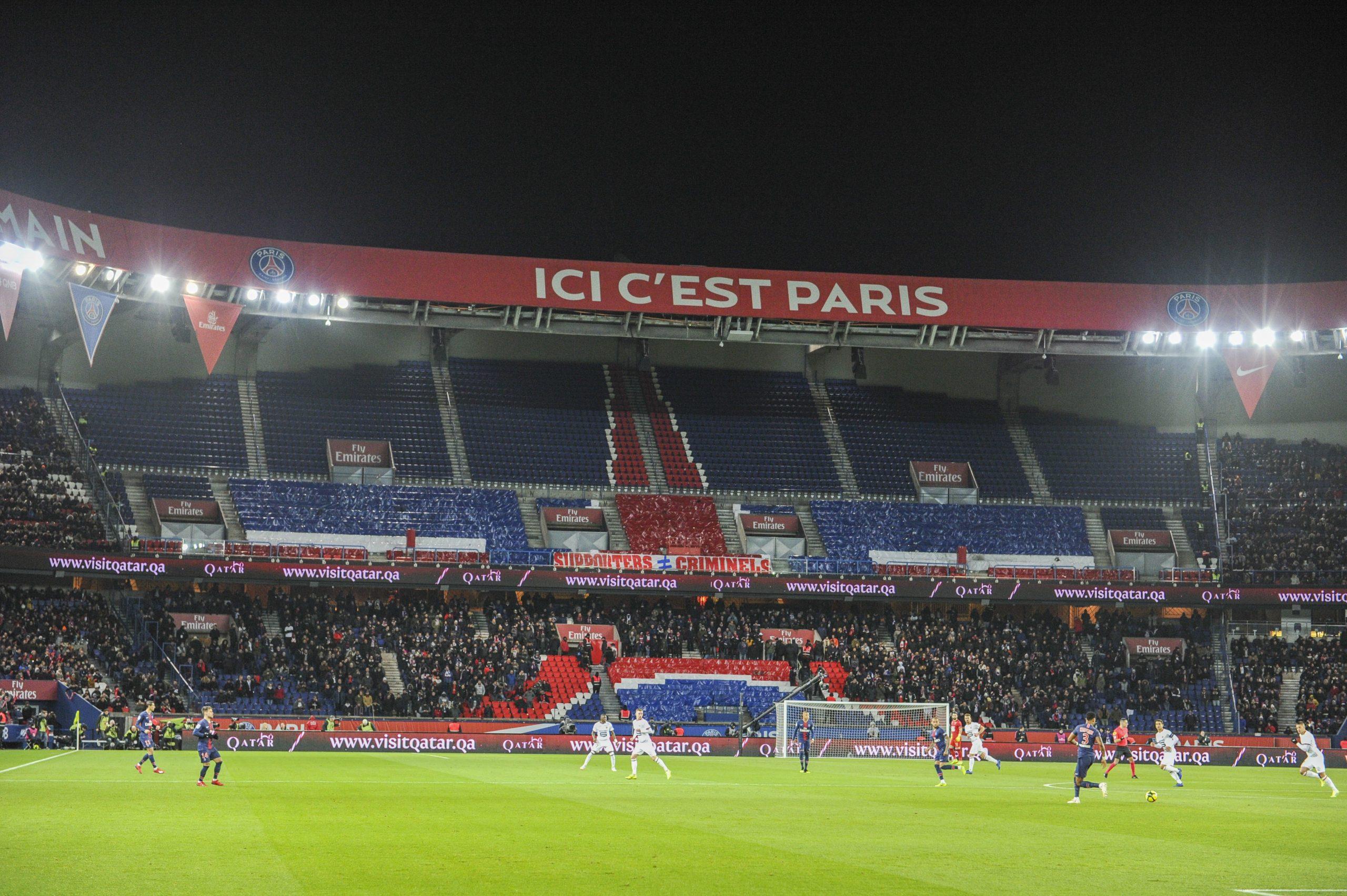 PSG/Angers - Un Parc des Princes limité à 1 000 supporters, indique France Bleu Paris