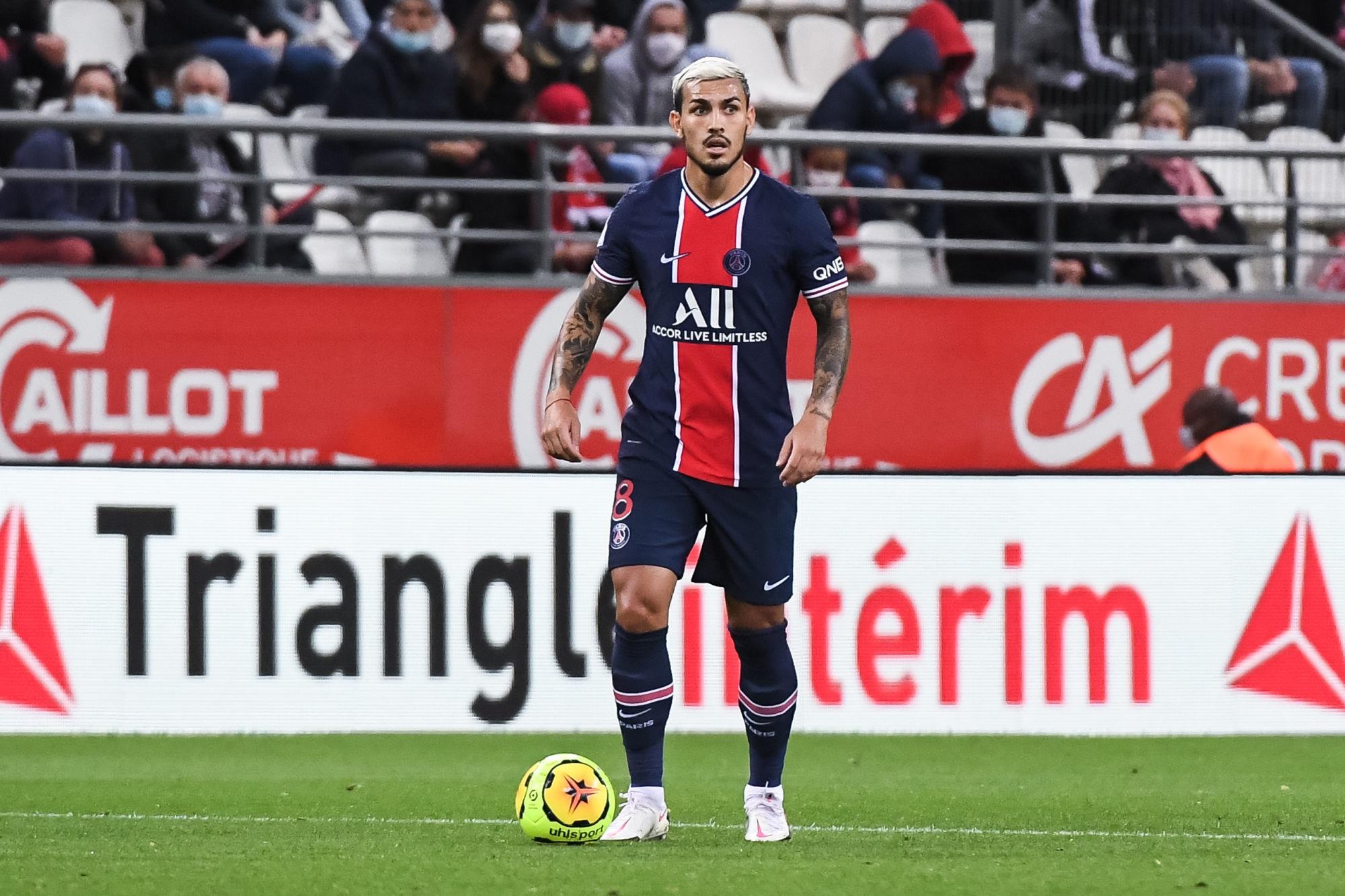 """Fernandez souligne que Paredes a un profil important pour le PSG, mais qu'il doit se """"maîtriser"""""""