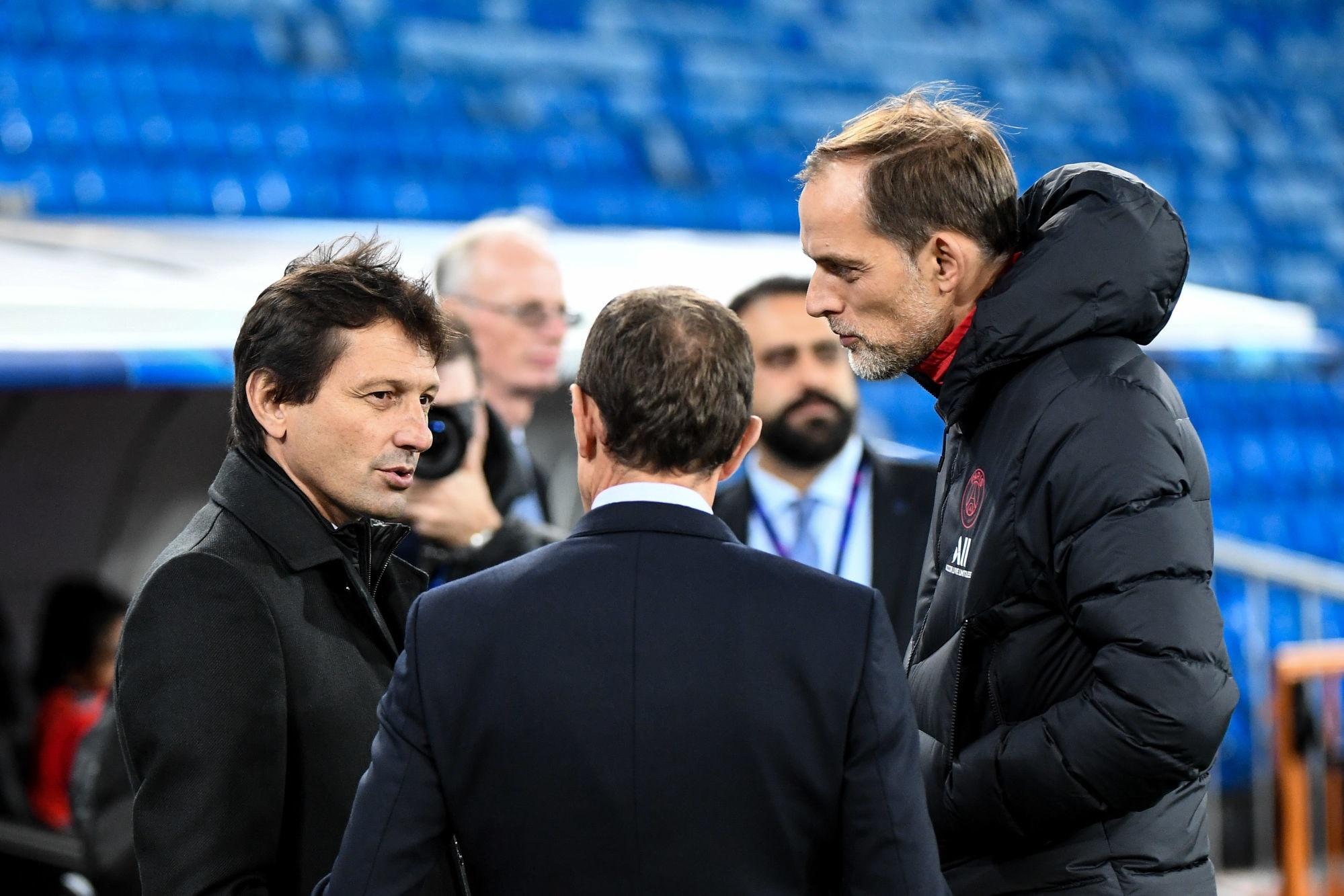 """L'Equipe évoque la relation entre Leonardo et Tuchel, avec des """"doutes"""" et un """"rééquilibrage"""""""