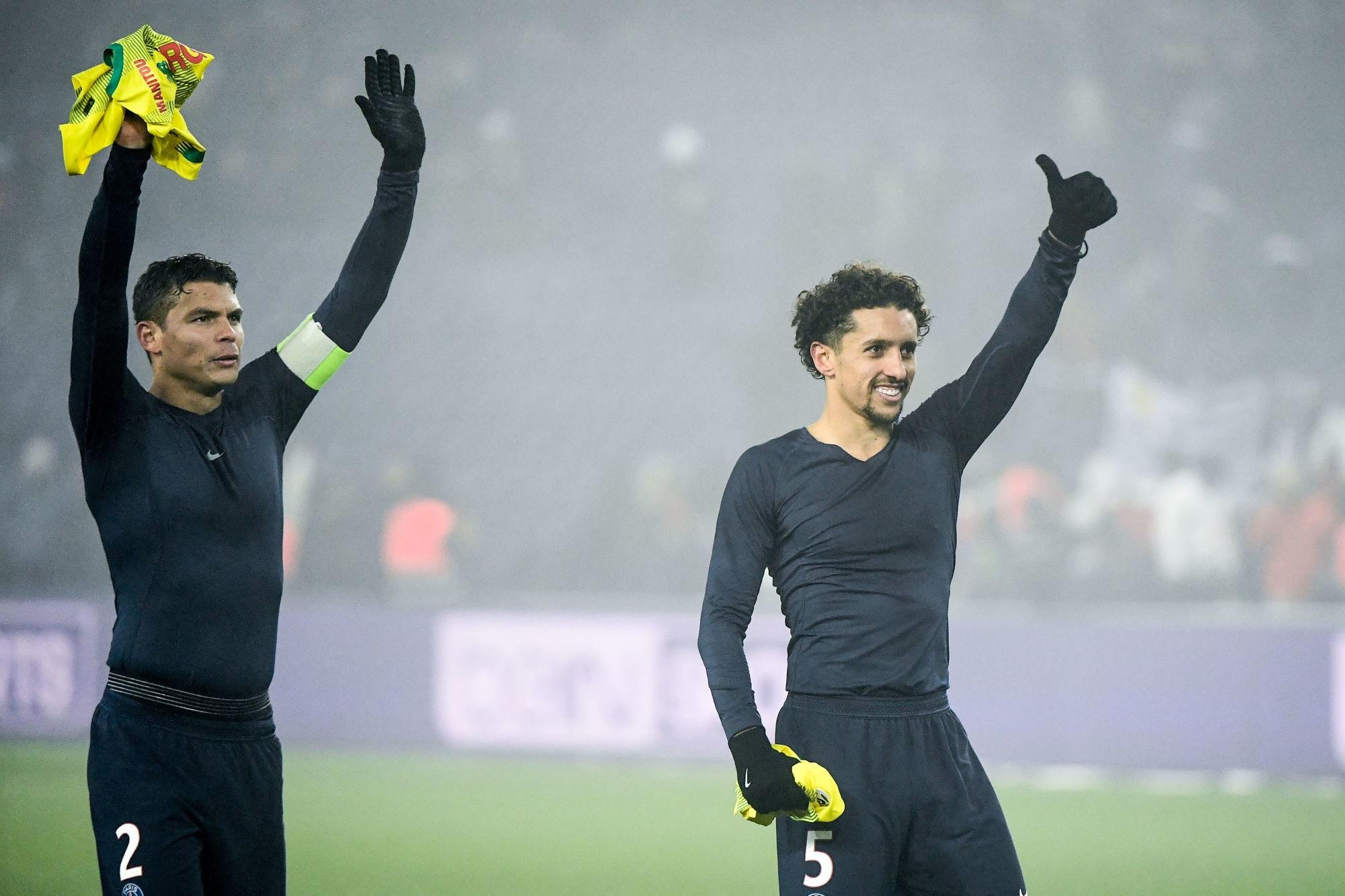 """Thiago Silva couvre Marquinhos de compliments """"Je ne pouvais pas espérer un meilleur successeur"""""""