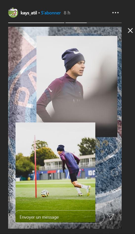 Les images du PSG ce lundi: retour sur la 3e journée de Nations League et entraînement
