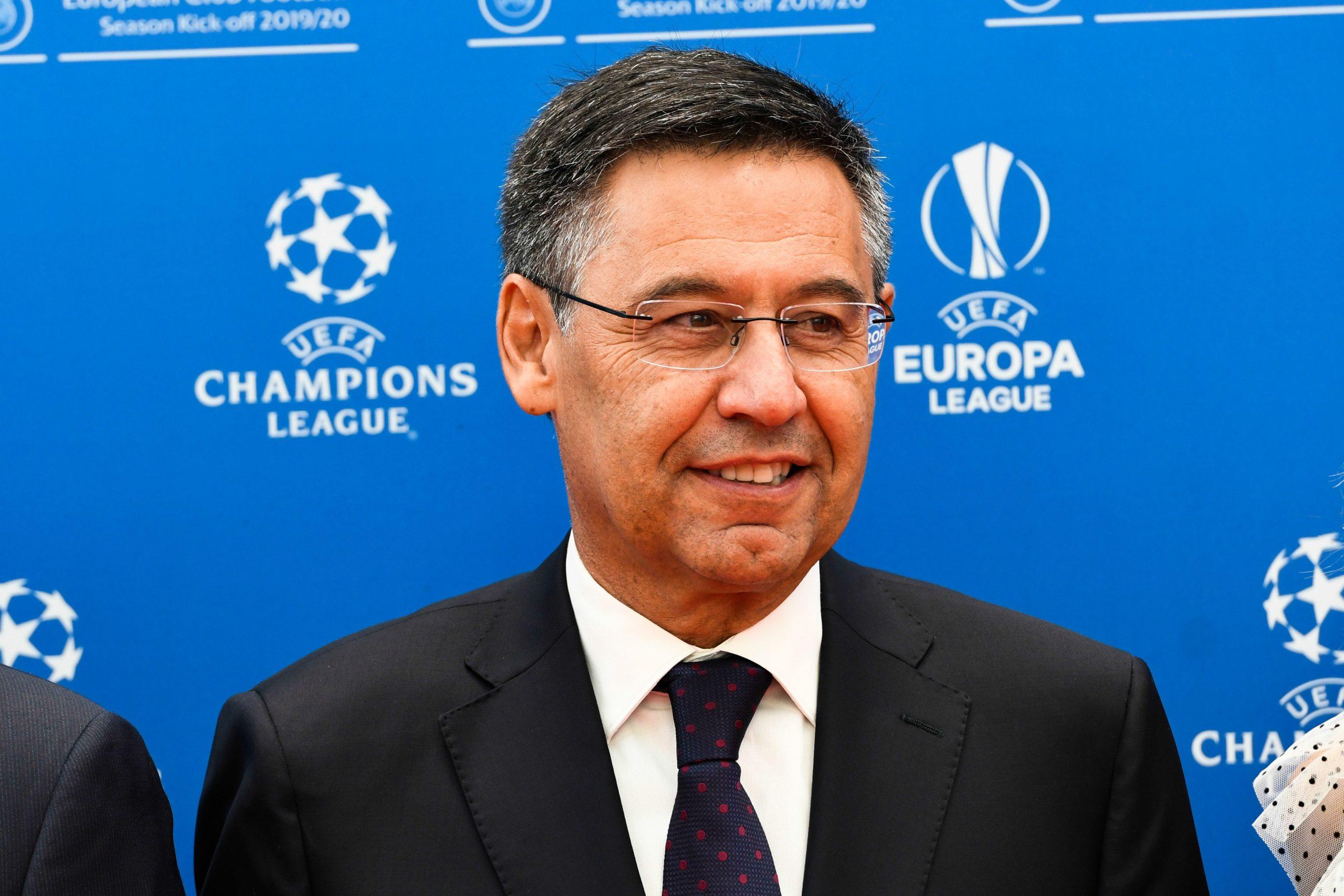 Le Barça approuve l'idée de la Super Ligue européenne, annonce Bartomeu
