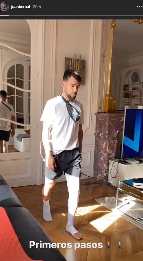Juan Bernat peut marcher de nouveau !
