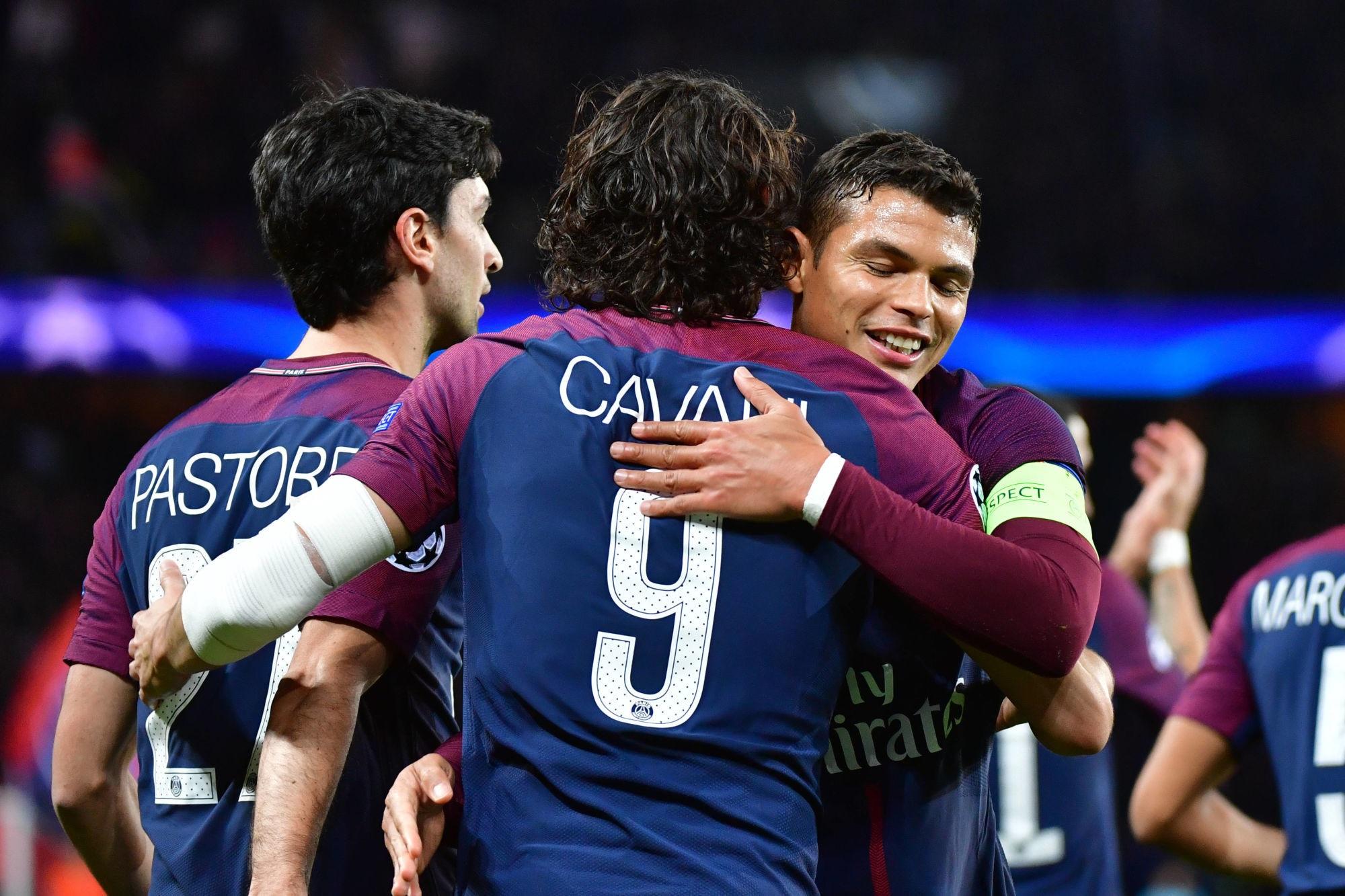 Cavani évoque les retrouvailles avec le PSG et Thiago Silva