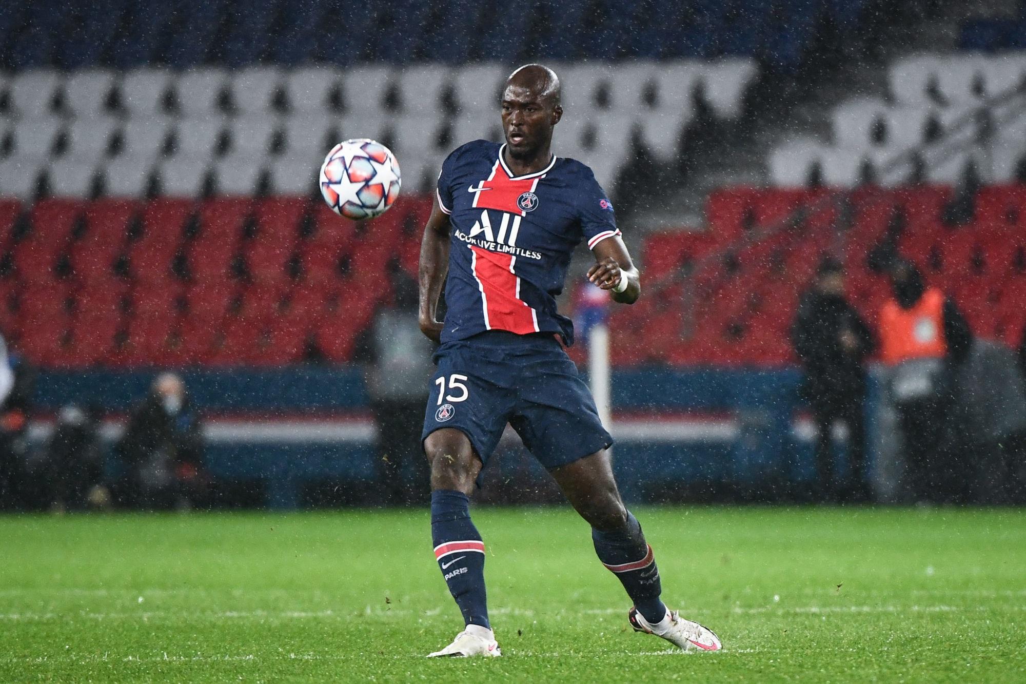 """Danilo Pereira déçu par la défaite face à Manchester mais """"heureux"""" d'avoir joué avec le PSG"""