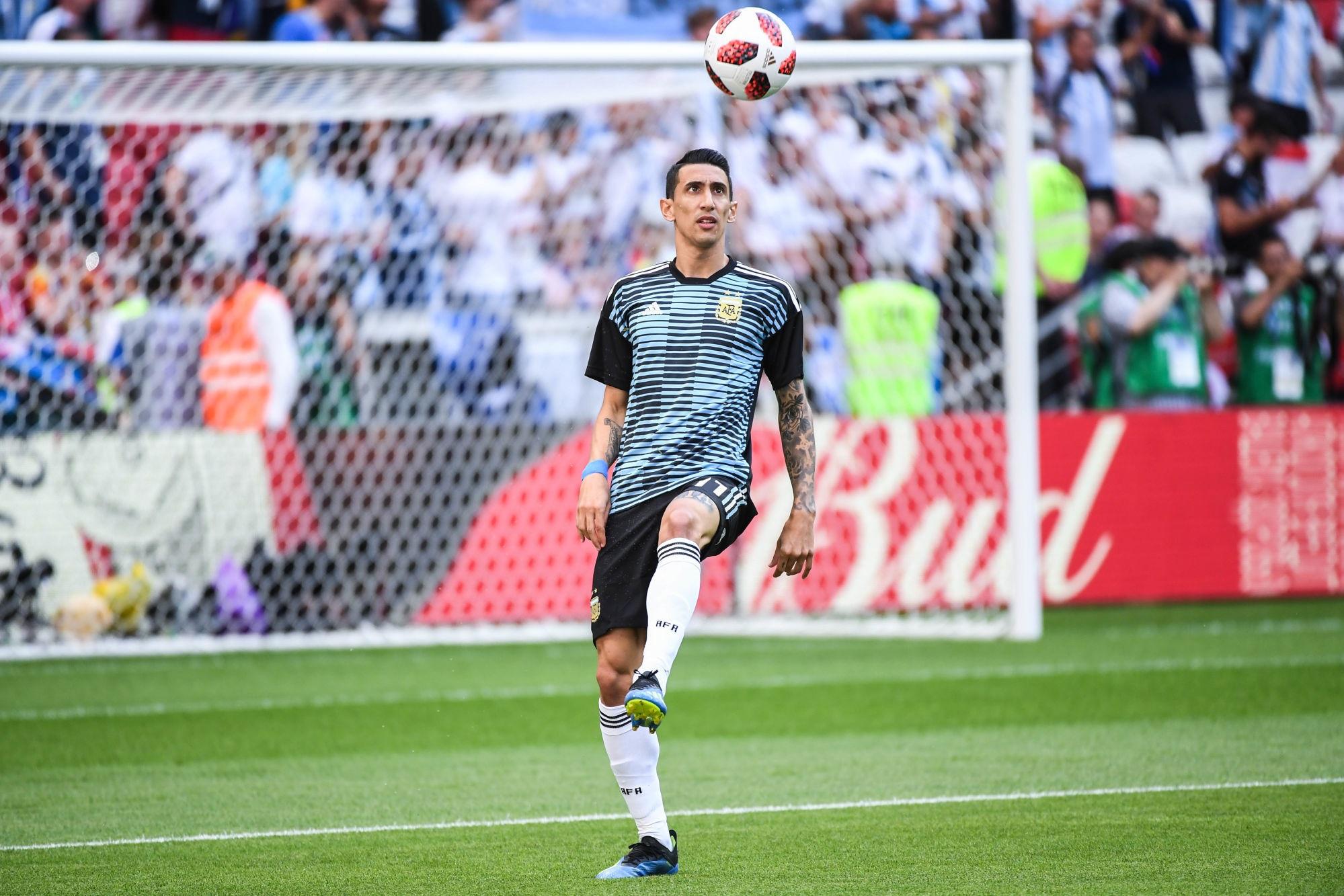 """Paredes assure que Di Maria est """"très heureux"""" de retrouver la sélection de l'Argentine"""