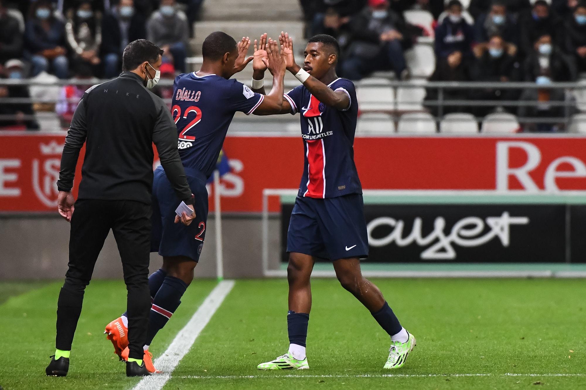 """PSG/Angers - Diallo, ravi de jouer, souligne la belle """"maitrise"""" parisienne"""