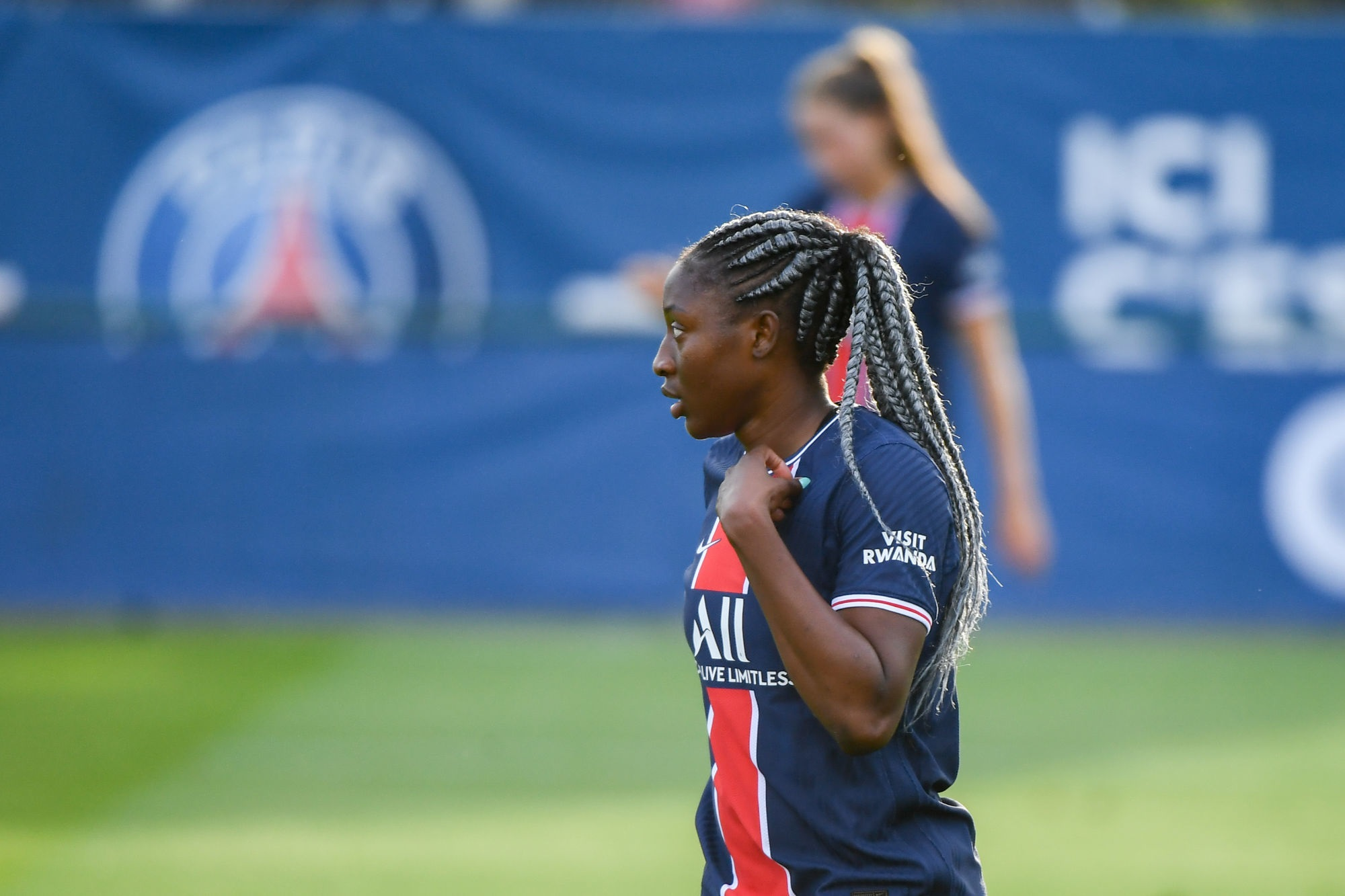 Diani évoque PSG/Montpellier et son bonheur à Paris