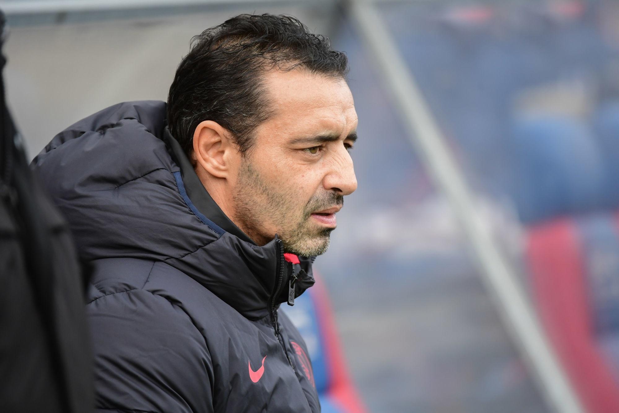 """PSG/Montpellier - Echouafni souligne que son équipe """"doit faire le travail"""""""