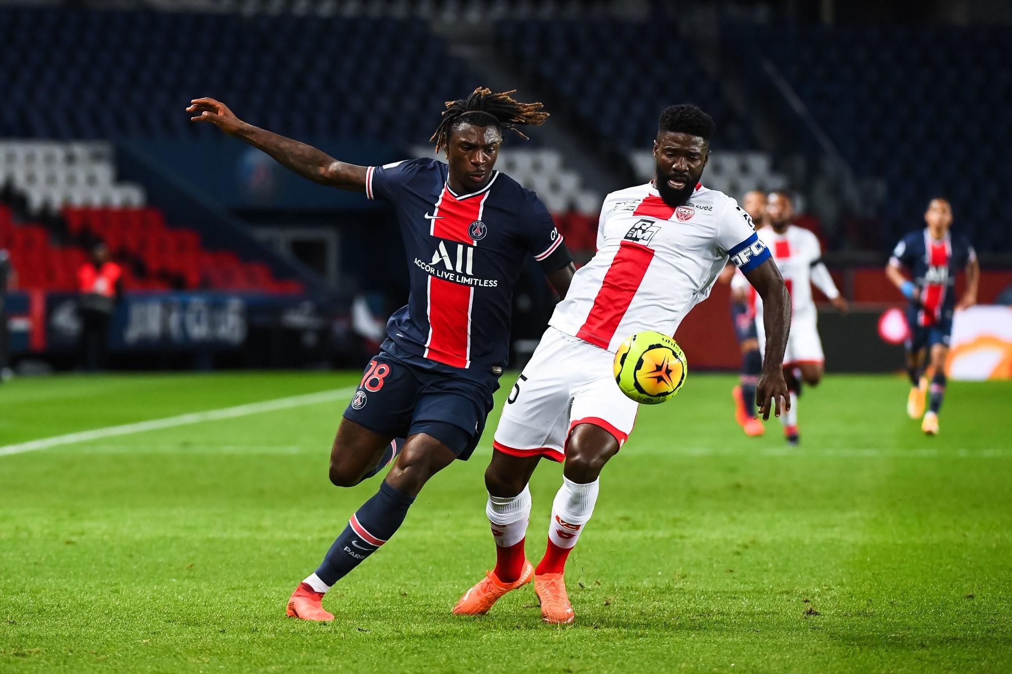 PSG/Dijon - Ecuele Manga regrette les occasions ratées et la mauvaise entame