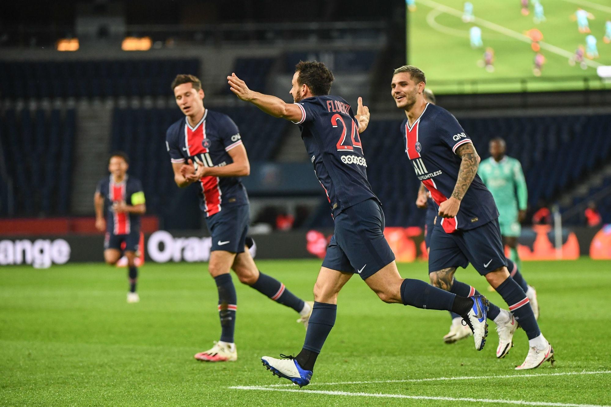 Ligue 1 - 2 buts du PSG dans le top 5 de la 6e journée