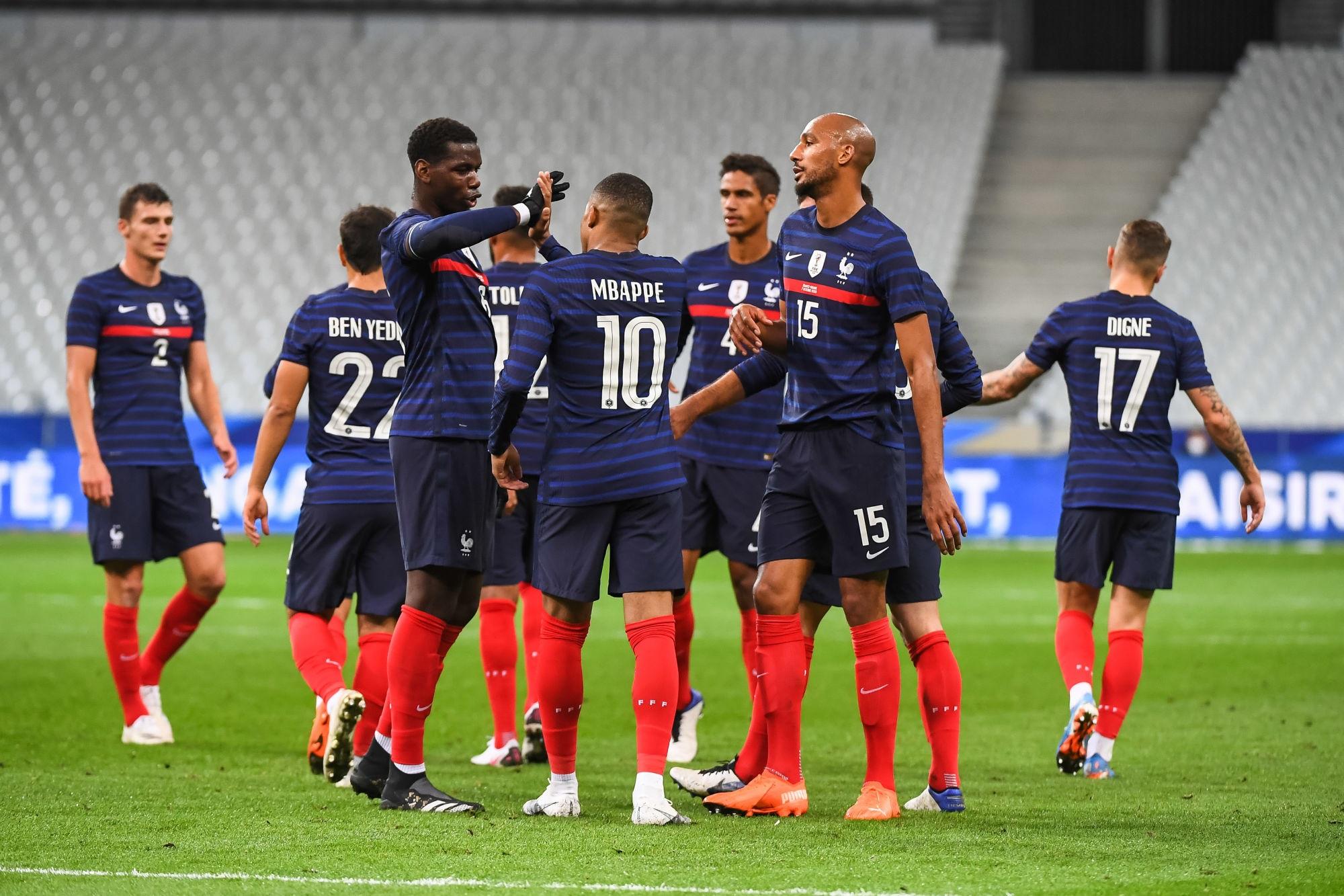 Croatie/France - Les équipes officielles : Mbappé titulaire, Kimpembe remplaçant