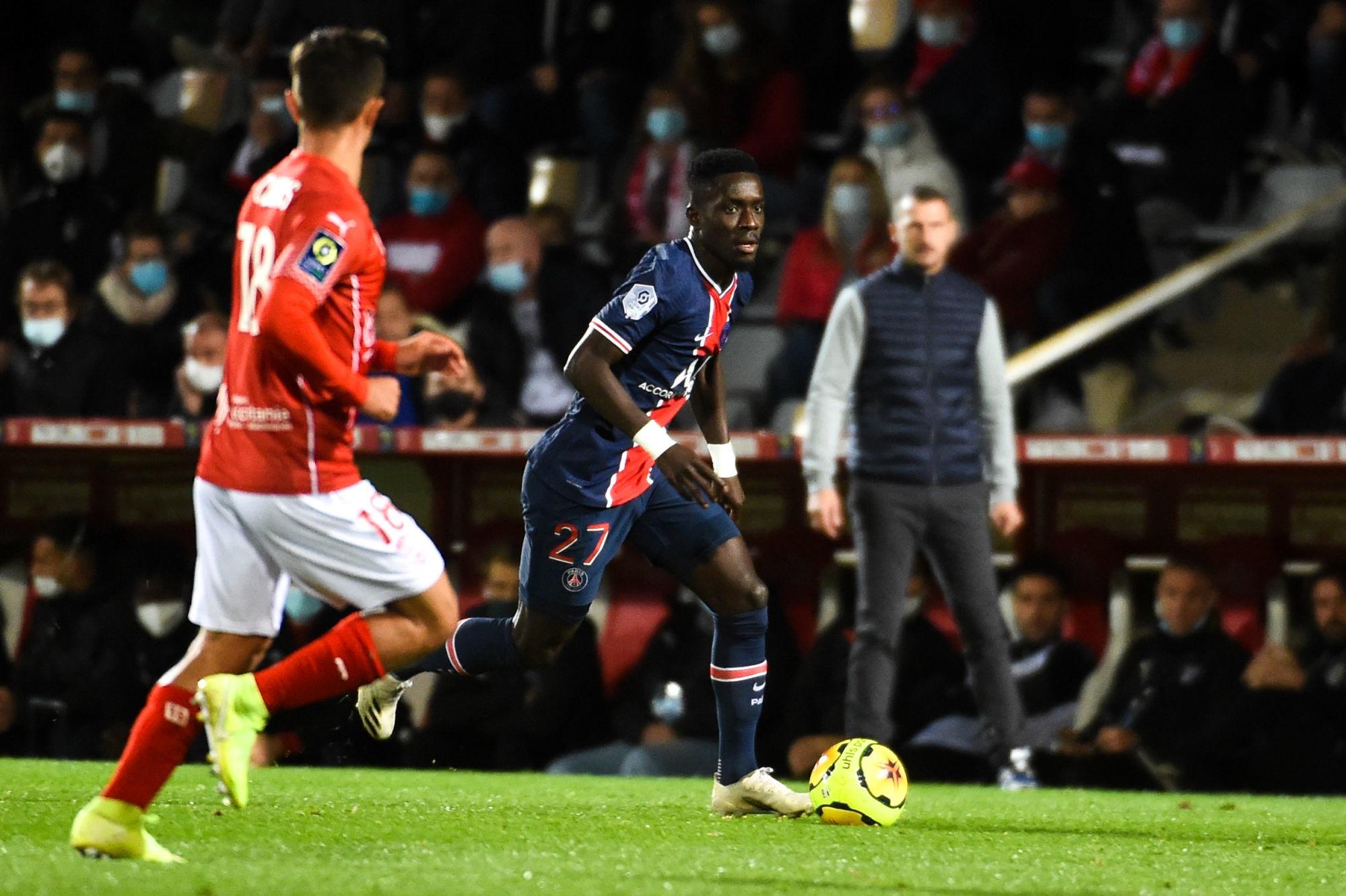 """Nîmes/PSG - Gueye souligne qu'il fallait """"marquer et gagner"""" et souhaite tirer plus souvent au but"""
