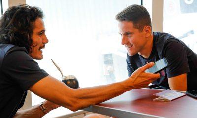 Cavani explique avoir parlé avec Herrera de Manchester United pour être sûr de son choix