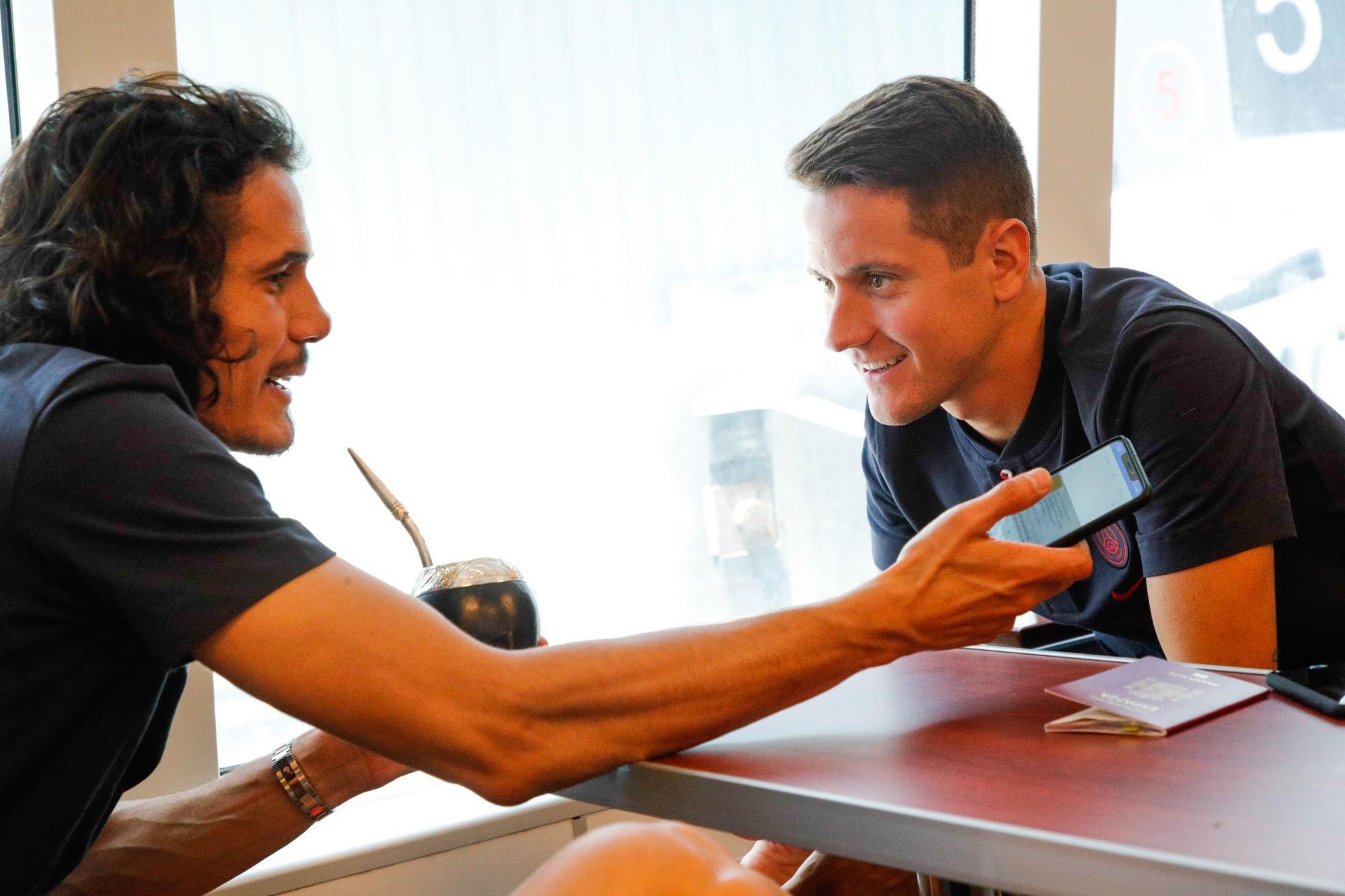 Herrera raconte avoir parlé de Manchester United à Cavani