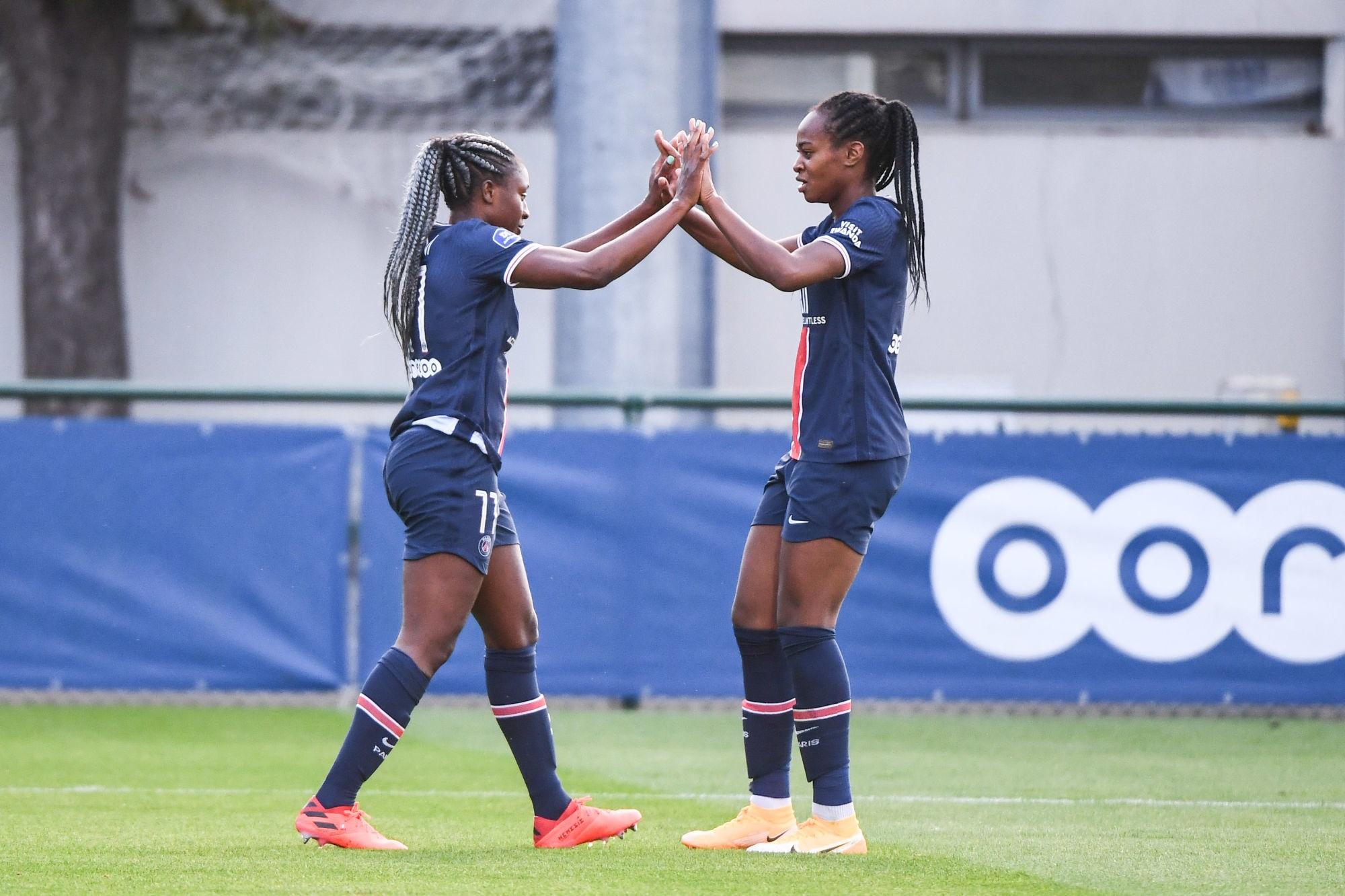 4 joueuses du PSG appelées en Equipe de France Féminine pour la trêve d'octobre