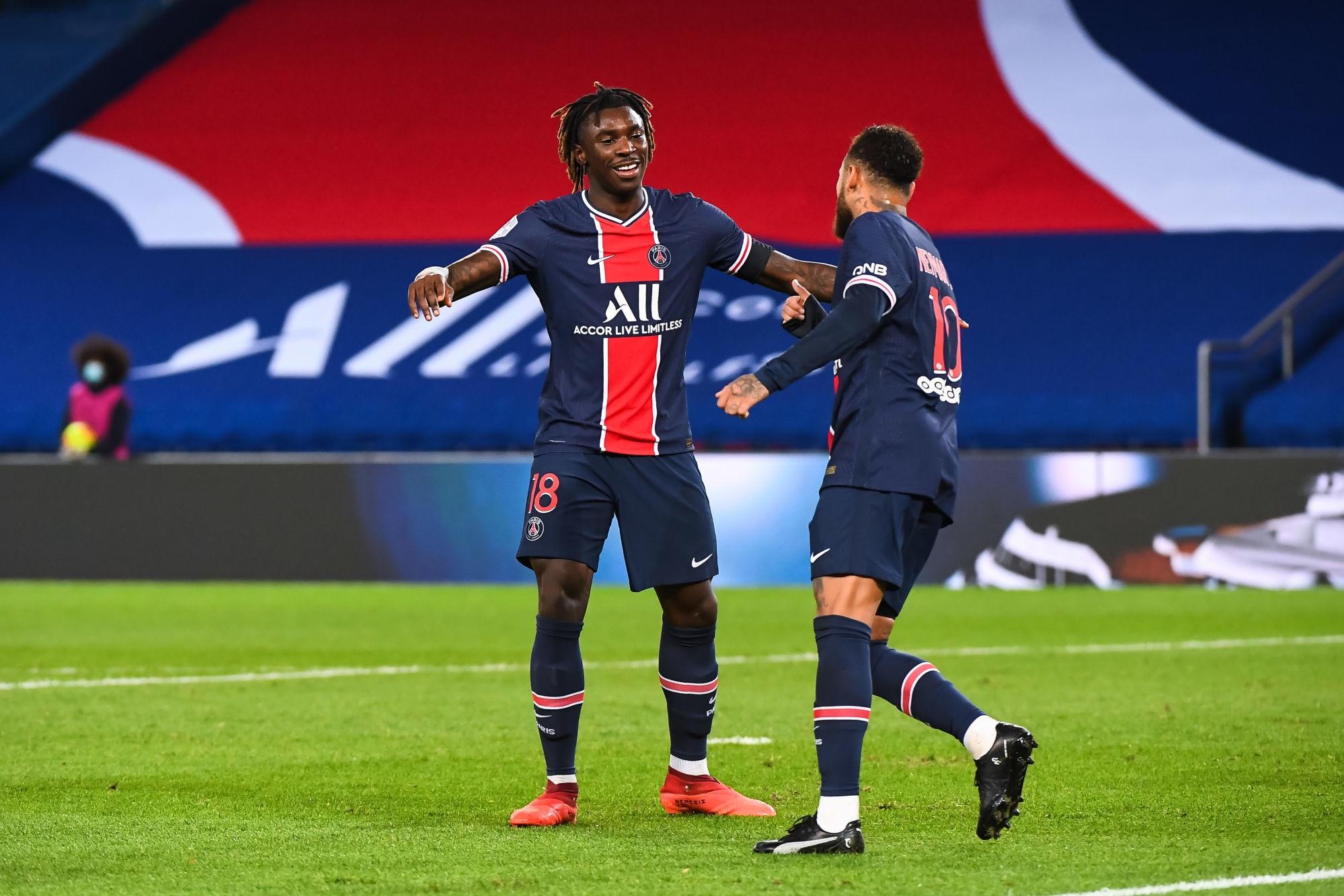 PSG/Dijon - Les notes des Parisiens dans la presse : Neymar et Kean au-dessus